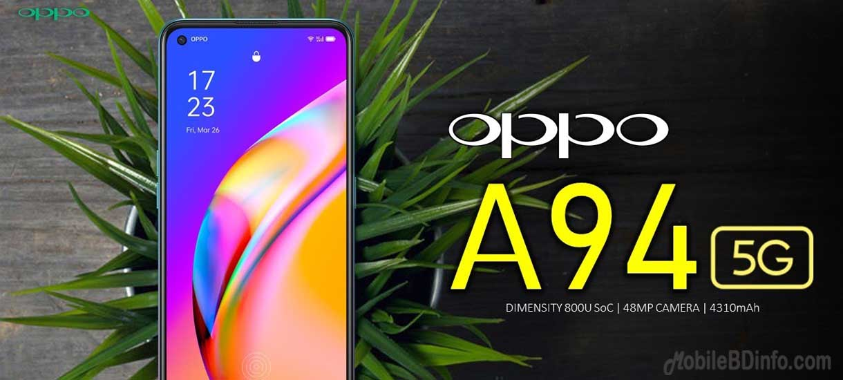 Oppo A94 5G Price in Bangladesh and Full Specifications