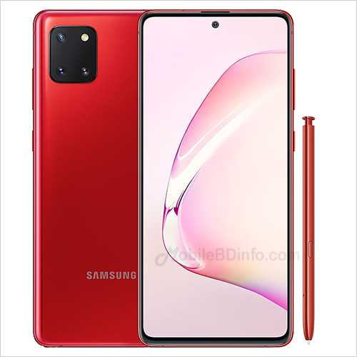 Samsung Galaxy Note10 Lite Price in Bangladesh and Full Specifications1