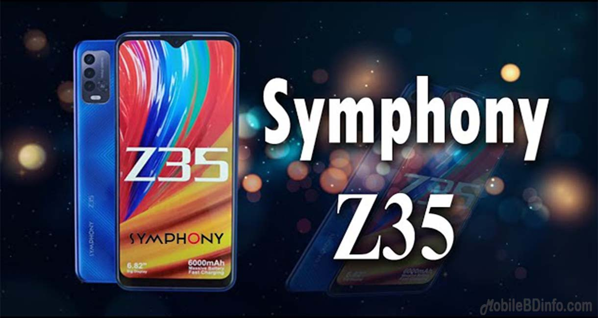 Symphony Z35 5G Price in Bangladesh and Full Specifications