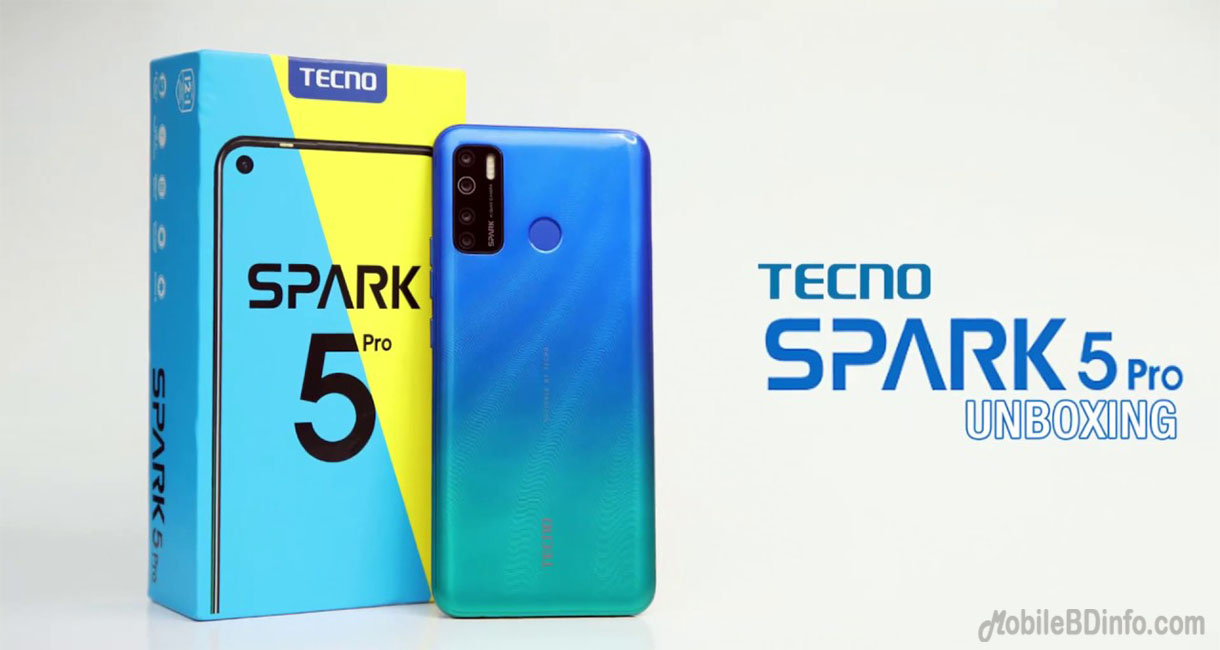 TECNO Spark 5 Pro Price in Bangladesh and Full Specifications