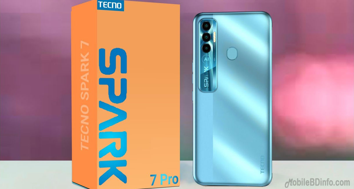 Tecno Spark 7 Pro Price in Bangladesh and Full Specifications