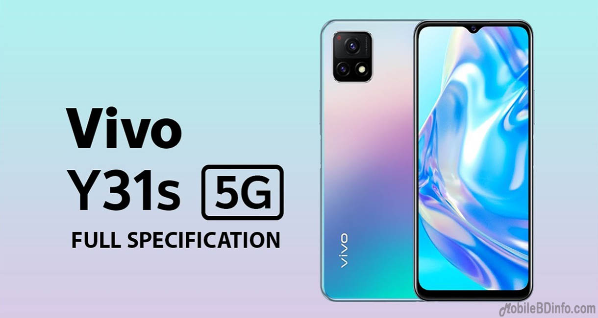 Vivo Y31s 5G Price in Bangladesh and Full Specifications