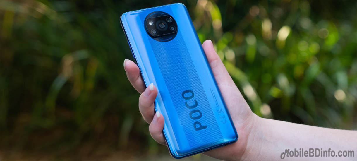 Xiaomi Poco X3 Price in Bangladesh and Full Specifications