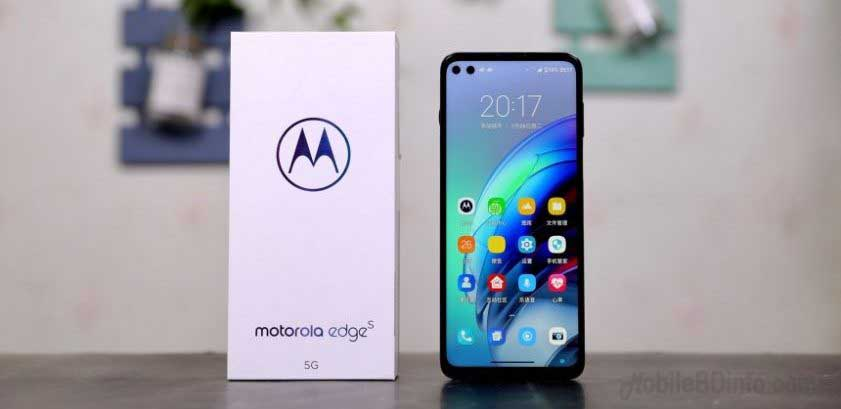 Motorola Edge S Price in Bangladesh and Full Specifications
