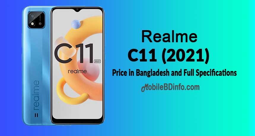 Realme C11 (2021) Price in Bangladesh and Full Specifications
