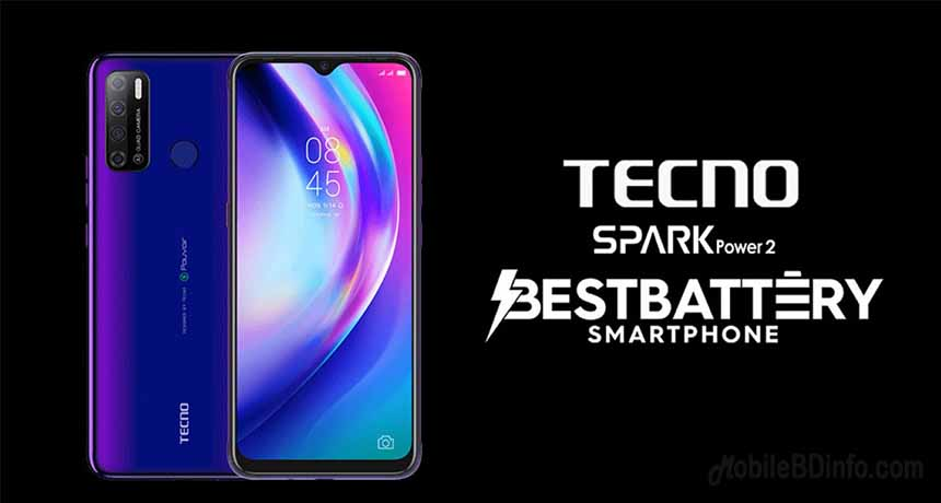 TECNO Spark Power 2 Price in Bangladesh and Full Specifications