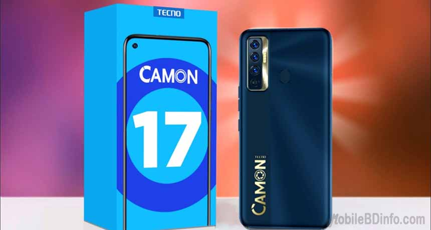 Tecno Camon 17 Price in Bangladesh and Full Specifications