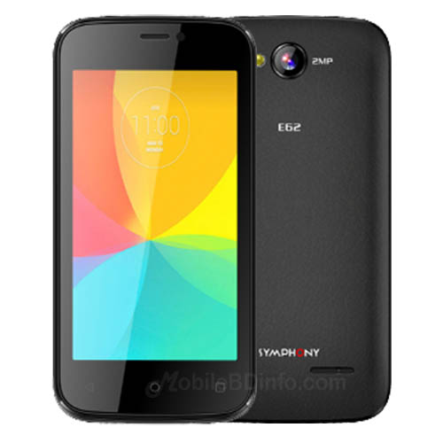 Symphony E62 Price in Bangladesh and full Specifications