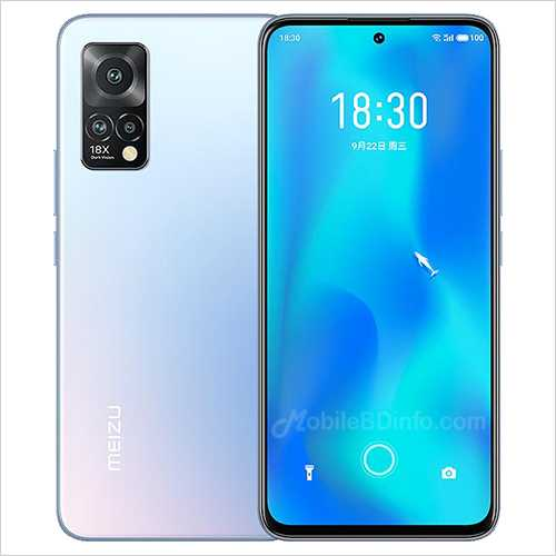 Meizu 18x Price in Bangladesh and Full Specifications